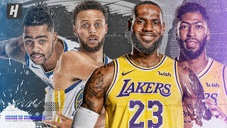 Warriors vs Lakers BEST Highlights & Plays from 2019 NBA Preseason!