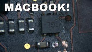 Retina Macbook Pro no image after liquid damage