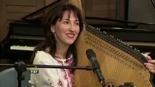 Nadia Pryimak performs a Traditional Ukrainian Song with her Bandura
