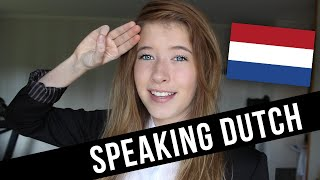 Speaking Dutch!