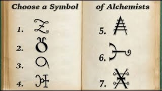 Choose a Symbol of Alchemists: Discover Your Life Lesson