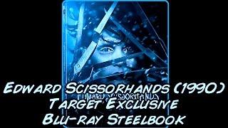 Edward Scissorhands (1990) Target Exclusive   Blu-ray Steelbook   Digital HD   Unboxing