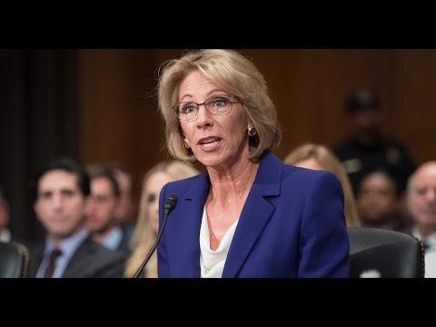 Lunatic Trump Secy of Education DESTROYED