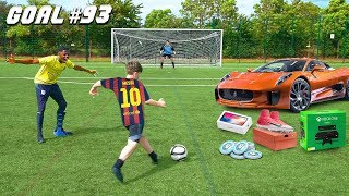 I Challenged KID Footballers To a PRO Football Competition (9 YEAR OLD MESSI)