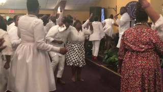 Resurrection Sunday Praise Break at The Harvest Tabernacle Church!!! 4/16/17