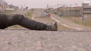 بي بي سي تدخل حي 30 تموز بالموصل برفقة قوات الفرقة المدرعة