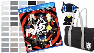 50 SHADES OF GREY, RAIN SNOW, PERSONA 5 UNBOXING