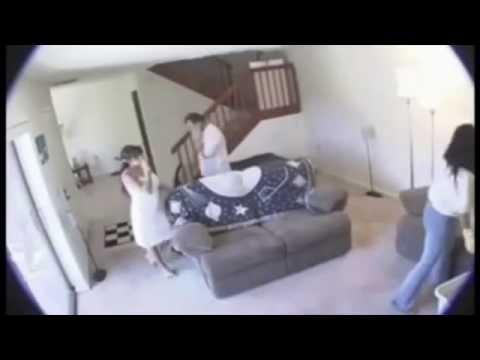 Esposa Infiel grabada con cámara oculta por esposo
