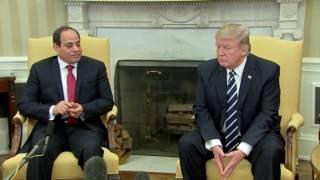 WATCH: President Donald Trump and Egyptian President Abdel Fattah el-Sisi In White House (FNN)