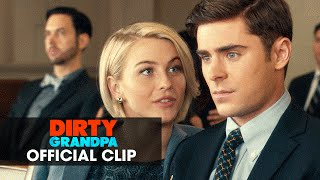 "Dirty Grandpa (2016 Movie - Zac Efron, Robert De Niro) Official Clip – ""Tie"""