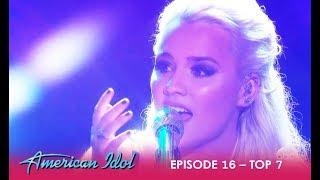 Gabby Barrett: WOWS The Judges With Emotional Performance | American Idol 2018