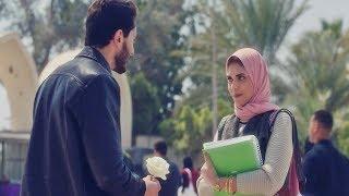 """نسر الصعيد -  نادية كانت هتموت من الخوف بس اللي حصل طمنها على الأخر 😍 """" أنا عايز أتقدملك """""""