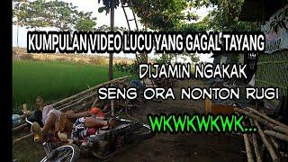 KUMPULAN VIDEO LUCU DI BALIK LAYAR - di jamin jungkel wkwkwk