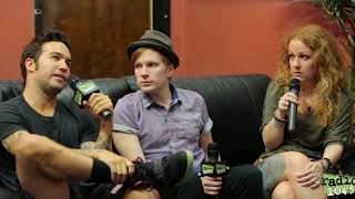 Fall Out Boy Backstage Interview