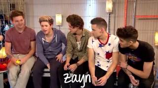 One Direction - Accents & Impressions