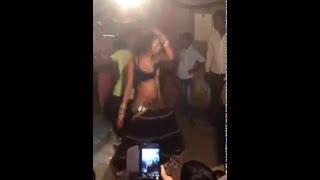 Girl Dance in village bar so funny