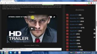 How to download movies using IDM.[NO TORRENT]