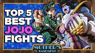 Top 5 Fights in Jojo