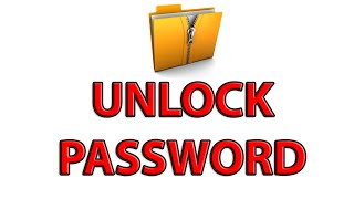 How to extract / open password protected ZIP file! (No scanners) - Tutorial