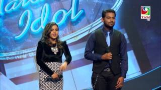 Laisha Junaid & Hamoodh Medley on Maldivian Idol S2 Top 5