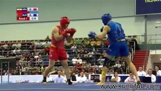 نهائي بطولة العالم 2017 في الووشو كونغ فو ساندا في أوزان 75 - 80 - 85