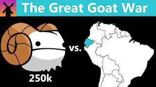 This Country Fought a War with 250,000 Goats; Who Won?
