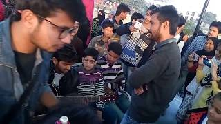 AMU BOYS Heart touching song with Guitar