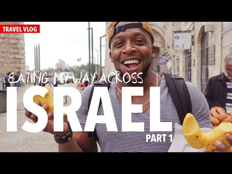 watch Travel Vlog: Eating My Way Across Israel Part 1 of 2