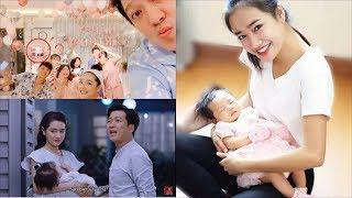Nhã Phương vô tình để lộ hình ảnh con gái trong buổi sinh nhật Trường Giang