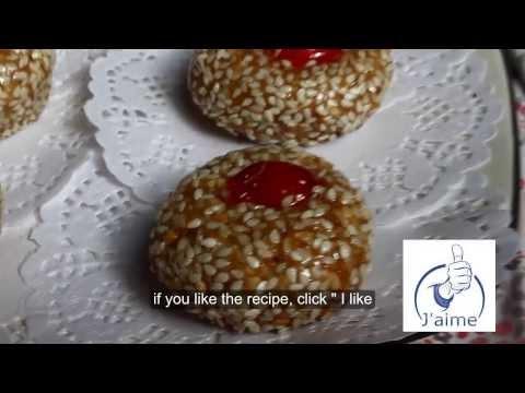 gateau algerien 2013 mchewek aux grains de sesame