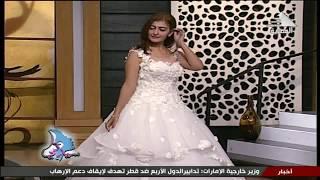 داليا حسن : فساتين زفاف 2017 مع مصممة الازياء مي علام - سيدتي -23-9-2017