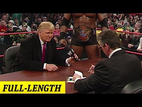 Xxx Mp4 Mr McMahon And Donald Trump 39 S Battle Of The Billionaires Contract Signing 3gp Sex