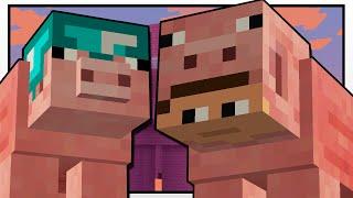 Minecraft   THE MYSTERIOUS PIG MAN!!   Custom Mod Adventure