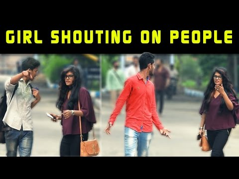 Xxx Mp4 Cute Girl Shouting On People Prank Gone Wrong Prank In India Prank By Sanjukta 3gp Sex
