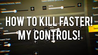 PUBG Mobile My Controls! How to Kill Faster! Full Gameplay!