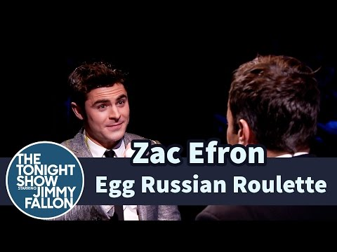 Egg Russian Roulette with Zac Efron