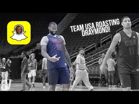 watch Team USA Roasts Draymond Green Over Snapchat D*ck Pic at Practice
