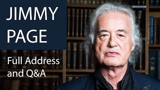 Jimmy Page | Full Address and Q&A at The Oxford Union