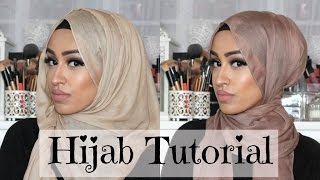 hijab tutorial simple and easy every day style sebinaah