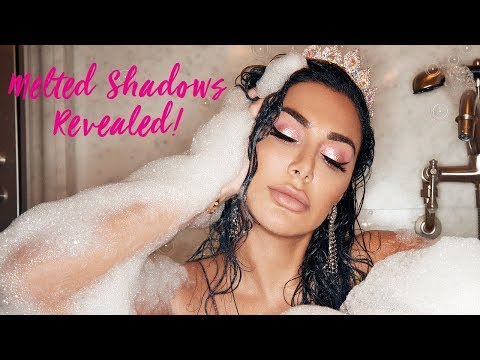 REVEALED! The New Huda Beauty Melted Shadows!!!