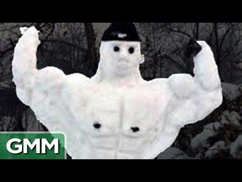 9 Craziest Snowmen on the Internet