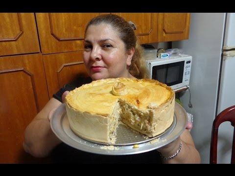 TORTA DE FRANGO SUPER GOSTOSA E SABOROSA POR MARA CAPRIO