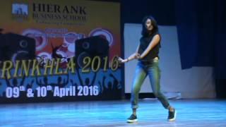 Solo Dance 2 || Tammana - Janki Devi College || Hierank Shrinkhla 2016