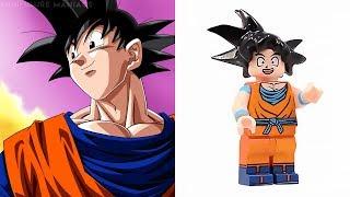 LEGO DRAGON BALL Z - Minifigures VS Manga & Anime.