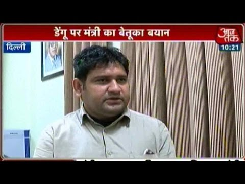 AAP Minister Sandeep Kumar Taken On BJP