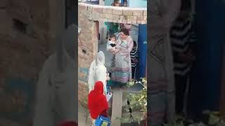 Aunty get anger after polio worker visit her home #polioworker #support #Pakistan