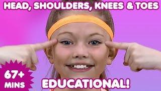 Head Shoulders Knees and Toes | Kids Songs | Nursery Rhymes | Children