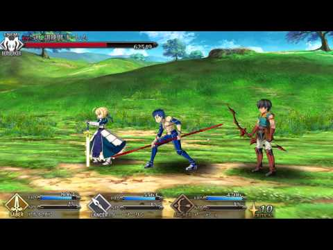 Fate/Grand Order Gameplay