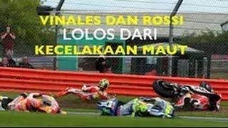 Video MotoGP Inggris yang digelar di Sirkuit Silverstone, Inggris pada Minggu 492016