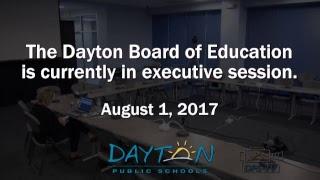 Dayton Board of Education Meeting 8-1-2017